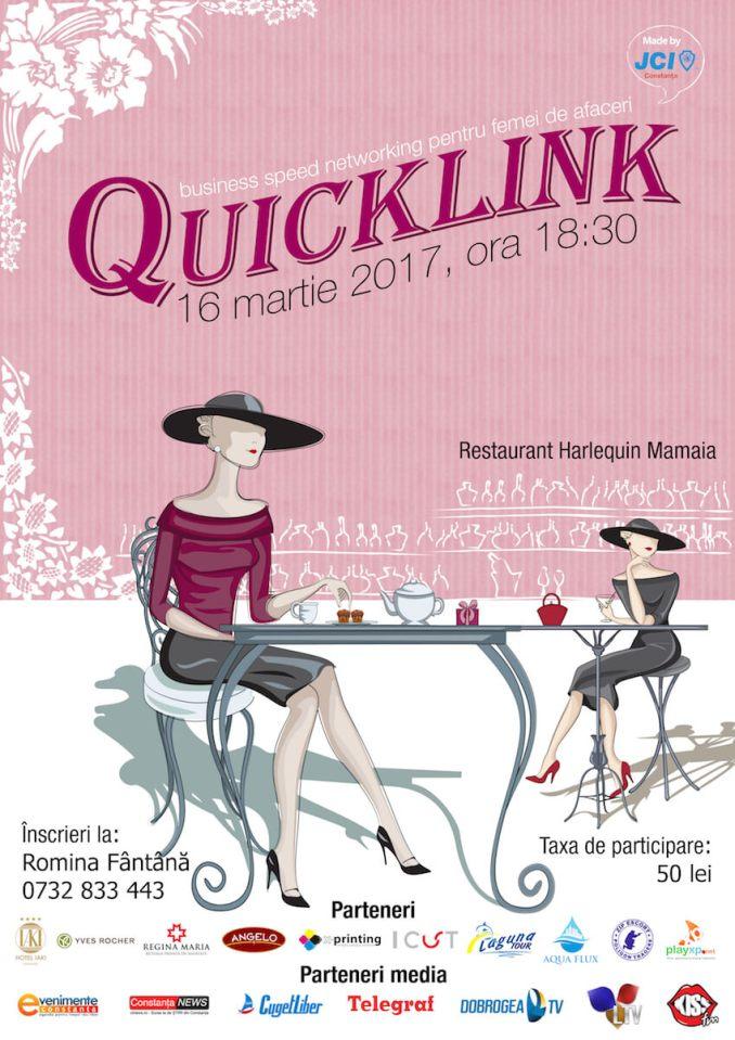 Afișul Quicklink - martie 2018