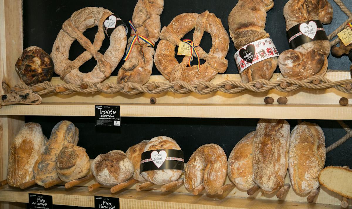 Pâine de la Moara Veche din Constanța. FOTO Ștefan Ciocan