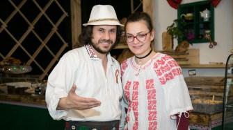 Florin Dinică și soția lui. FOTO Ștefan Ciocan