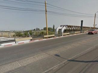Podul de la Butelii (Cumpenei). FOTO Google Maps