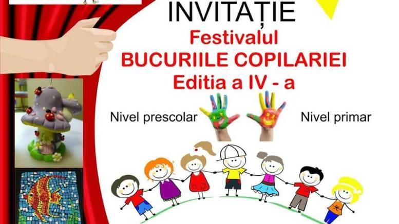 """Festivalul """"Bucuriile Copilăriei"""" la școala Petre Ispirescu din Constanța"""