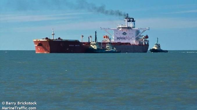 Nava BERGE ARCTICa fost scena accidentului de muncă