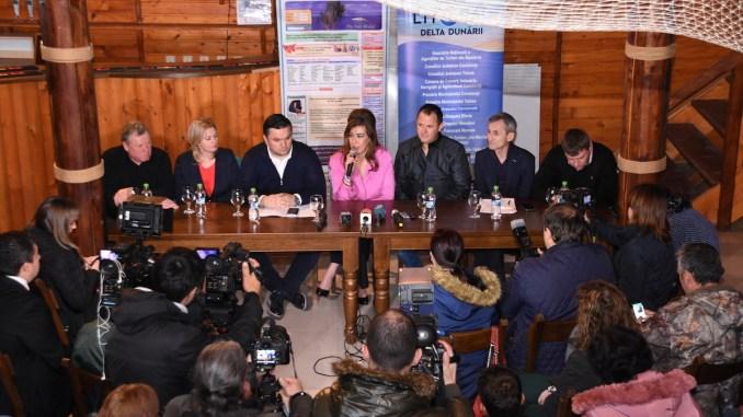 """Conferința de presă """"Am fost Acolo"""". FOTO Ovidiu Oprea"""