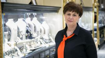 Viorica Rizea, director Sevda Diamonds Constanța. FOTO Ștefan Ciocan / Constanța NEWS