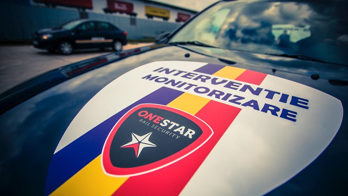 Intervenție și monitorizare de la One Star Security. FOTO onestarsecurity.ro