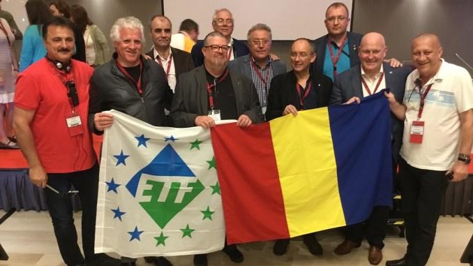 """Congresul """"V"""" al Federatiei Europene a Lucratorilor din Transporturi"""