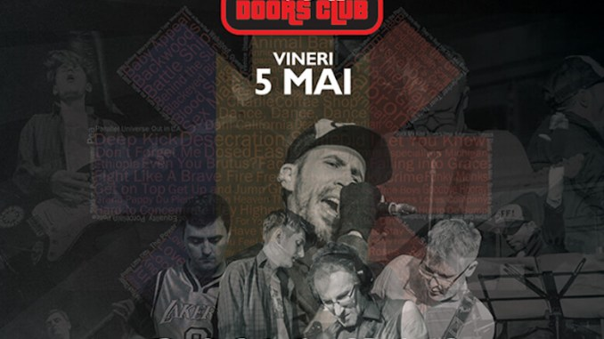 Afiș Romanian Hot Chili Peppers