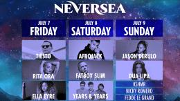 Programul Festivalului Neversea