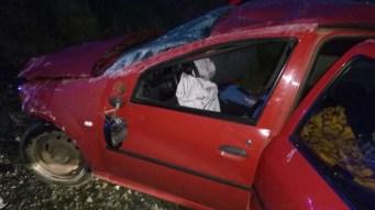 Accident Ovidiu Constanta fuga de la locul faptei. FOTO ISU DOBROGEA