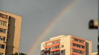 Curcubeu deasupra Constantei. FOTO Catalin Schipor