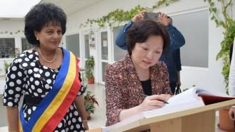 Delegatie China la Cumpana