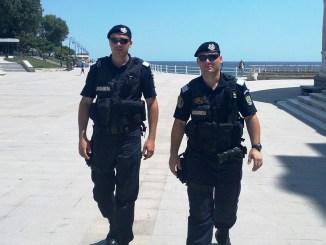 Jandarmii constănțeni, în acțiune. FOTO Jandarmeria Constanța