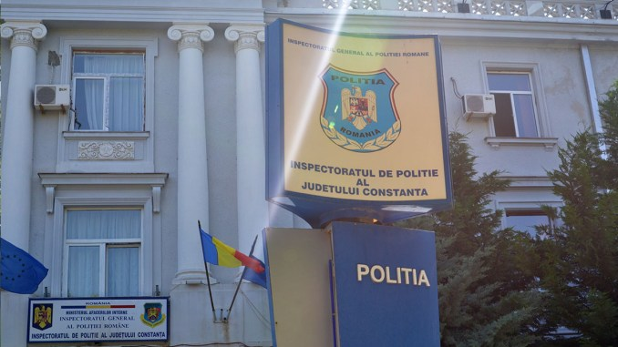 Sediul Inspectoratului de Poliție Județean - IPJ Constanța. FOTO Catalin Schipor