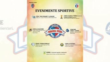 Program evenimente sportive de ziua Orașului Ovidiu