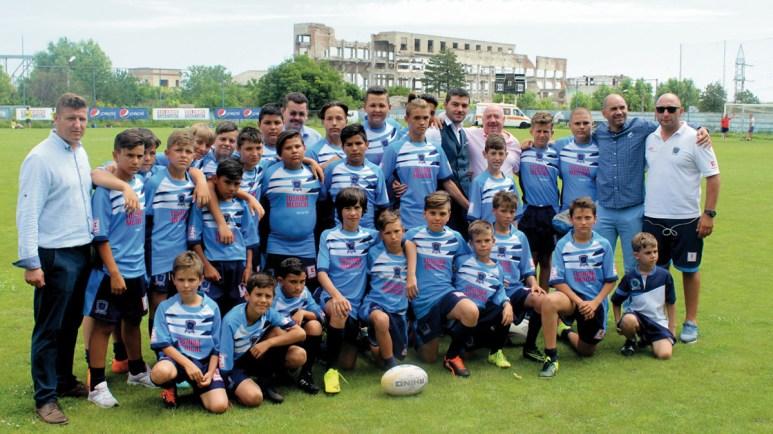 Echipa de Rugby zilele orasului Ovidiu: FOTO Primăria Ovidiu