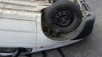 Accident rutier. FOTO ISU Dobrogea
