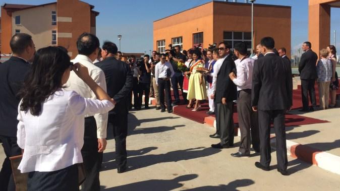 Delegatia oficiala a Chinei primita de membrii PSD Constanta (1)