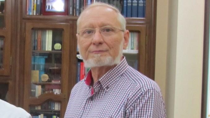 Aurel Papari, președintele Universității Andrei Șaguna, Constanța. FOTO Universitatea Andrei Șaguna Constanța