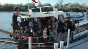Migranți irakieni la Mangalia. FOTO Poliția de Frontieră