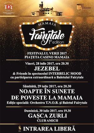 Afis Fairytale Mamaia – 28 iulie