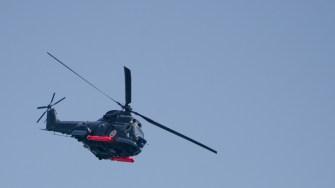 |Elicopter PUMA NAVAL lansand torpile anti submarin la Ziua Marinei 2017. FOTO Cătălin Schipor
