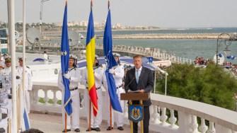 Discursul lui Klaus Iohannis la Ziua Marinei 2017. FOTO Cătălin Schipor