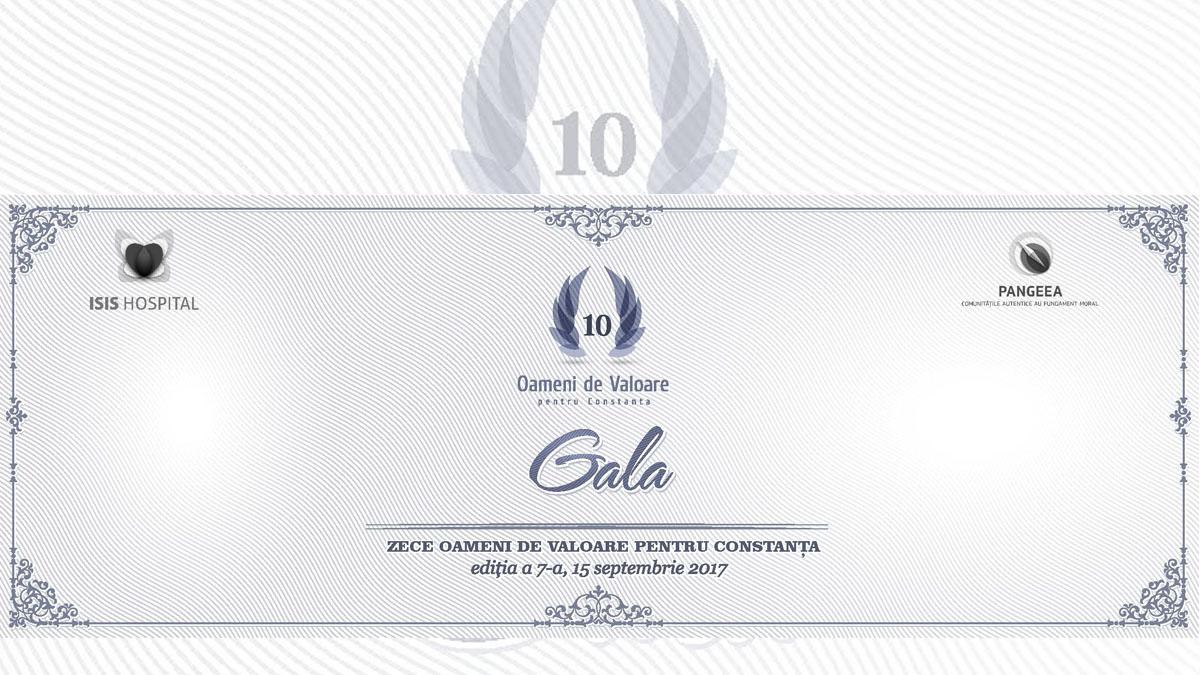 Gala zece Oameni de Valoare Constanta