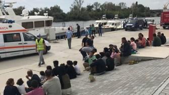 migranti ilegali, garda de coasta