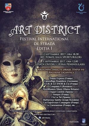 Afiș Art District