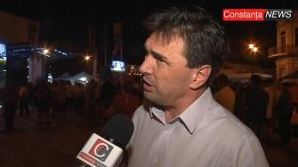 Primarul Liviu Negoiță la Zilele Orașului Cernavodă 2017. FOTO Adrian Boioglu