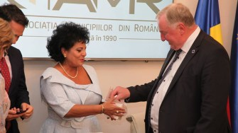 Mariana Gâju a participat la o întâlnire cu membrii Delegaţiei României la CoR