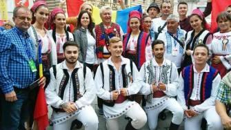 """Ansamblul Folcloric """"Româncuța"""" - Cumpăna la Verona"""