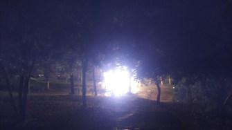 O autorulota a luat foc în mers. O fetiță de 6 ani a fost arsă de vie.