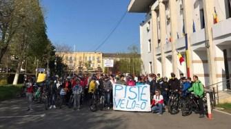 Biciclistii din constanta protestează. FOTO Arhiva