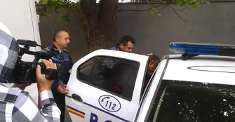 Suspectul a fost arestat