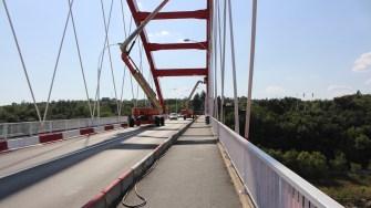 Podul SfâReabilitatea Podului Sfânta Maria din Cernavodă. FOTO Adrian Boioglunta Maria din Cernavodă. FOTO Adrian Boioglu