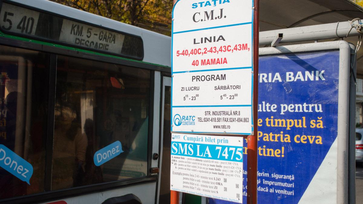 Autobuz RATC in statie (1)