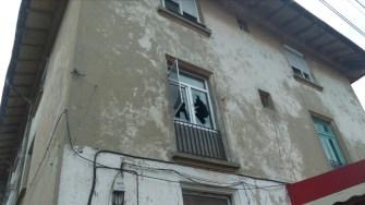 Incendiul a izbucnit într-un apartament de la etajul I