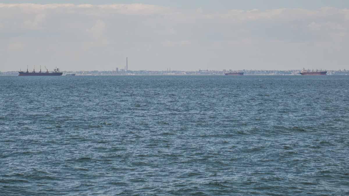 Nave comerciale in rada exterioara a Portului Constanta (2)