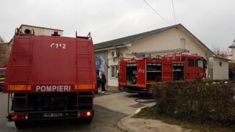 Pompierii au o dublă misiune