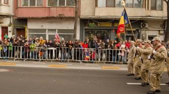 Fiecare armă și serviciu a defilat cu trupele și autospecialele din dotare. FOTO Cătălin Schipor