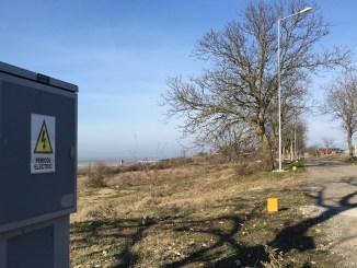 Dealul Vifor din Cernavodă, electrificat. FOTO CTnews.ro