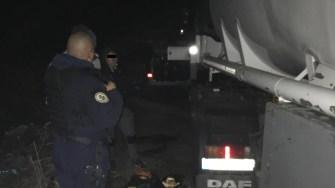 Jandarmii constănțeni aflați în deplasare au dat peste o tranzacție ilegală. FOTO GJM Tomis Constanța