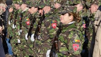 Militarii constănțeni. FOTO Cătălin Schipor
