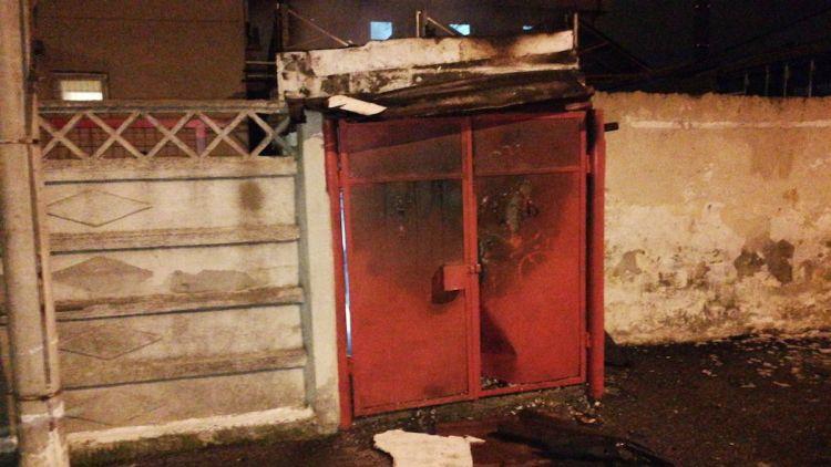 "Incendiu Magazie la Centrul de Plasament ""Antonio"" din Constanța. FOTO ISU Dobrogea"