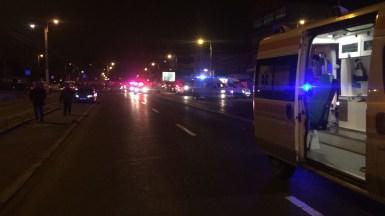 Accident grav în zona Billa. FOTO IPJ Constanța