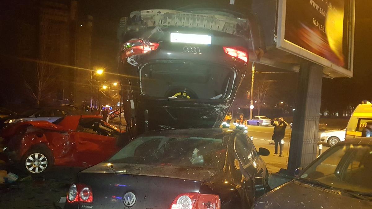 accident audi masini distruse (7)