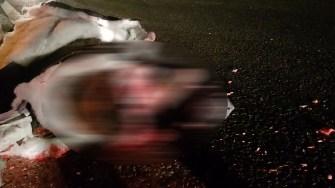 Accident mortal în apropiere de Mihail Kogălniceanu. FOTO SAJ