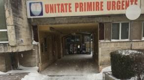 Angajații Polaris au curățat zona UPU de la Spitalul Județean. FOTO Primăria Constanța