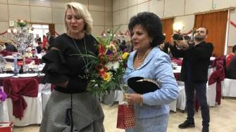 Mariana Gâju la Ziua Femeii, organizată de Primăria Cumpăna. FOTO Adrian Boioglu